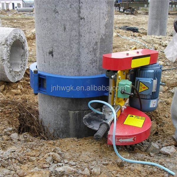 Concrete saw cutter pile cutting machine factory price