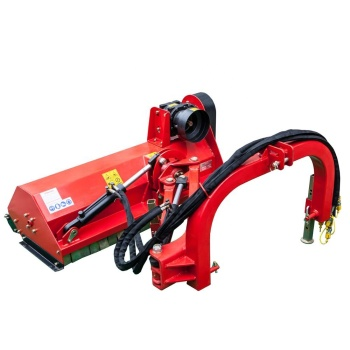 China 15-55hp Farm Machinery Small Tractor side 3 point PTO hydraulic Verge mulcher Flail Mower