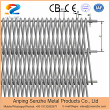 high hardness balanced weave metal conveyor wire mesh belt for coal