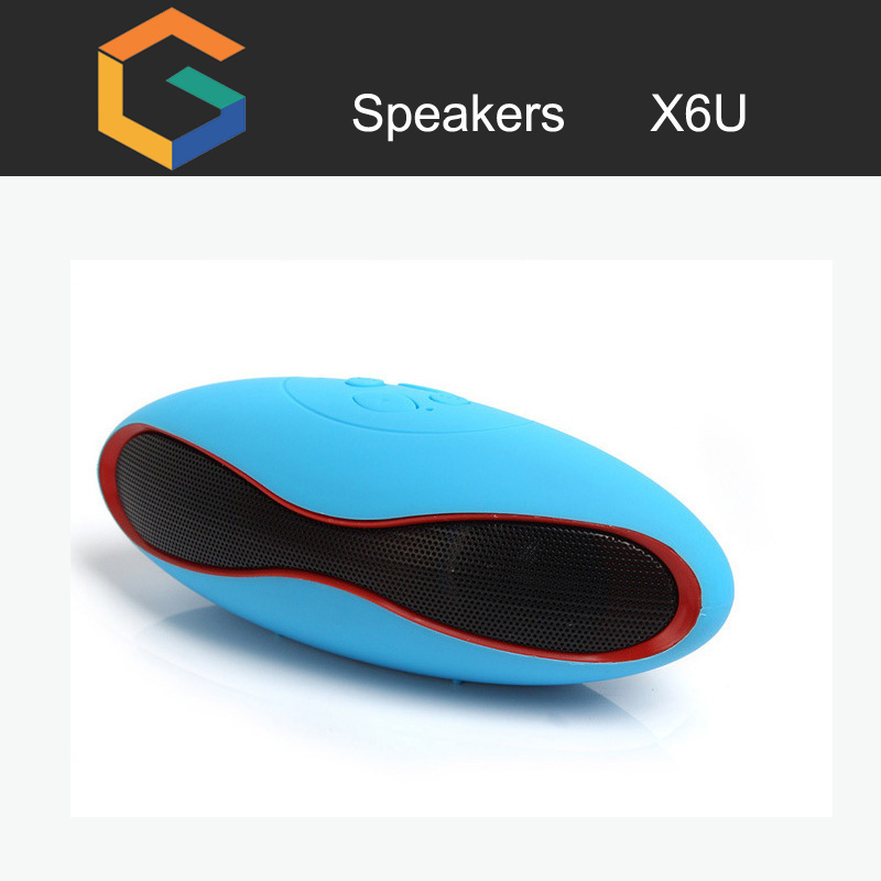 X6U bluetooth speakers portable magnetic speakers super bass portable speaker