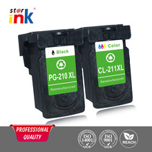 PG-210 CL-211 ink cartridge for Canon PIXMA iP2702/ MP240/ MP250/ MP270/ MP480/ MP490/MP495 wireless MX320/ MX330/ MX340/ MX35