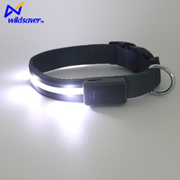 2016 Unique Design quality led nylon dog collar