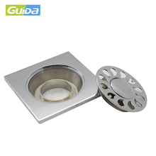 Stainless steel Mid East tile insert floor trap waste grate
