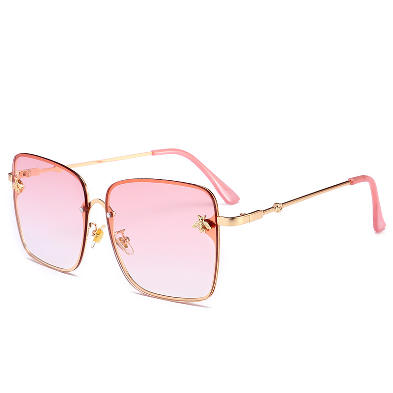 New Designs Sunglasses Fashion Women Metal Sun Glasses Wholesale