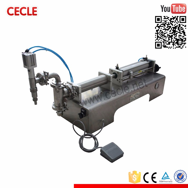 New condition small butter gel filling machine with high quality