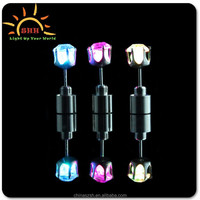 Wholesale colorful LED light earrings for night party