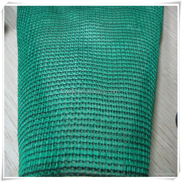plastic green house roof sun shade net in China