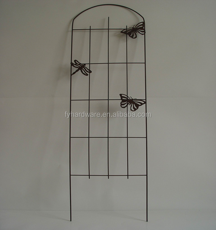 Wholesale Butterfly Shape Metal Garden Trellis