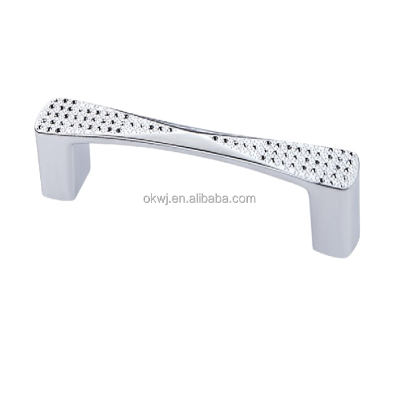 OUKE zinc alloy bling furniture handle