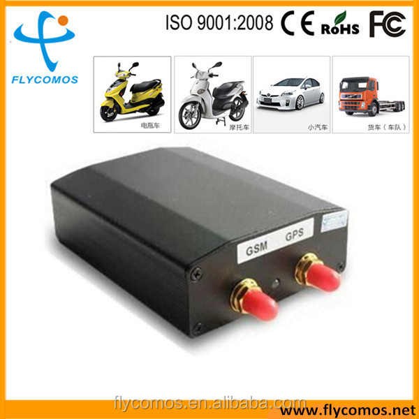 Fashion gps car alarm,fleet management gps positioning system with mobile phone APP tracking