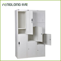 high quality KD structure steel 9 door Cheap Lockers, Storage cabinet wardrobes , Staff Lockers