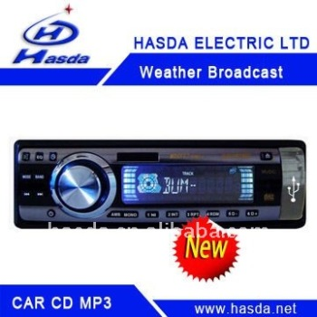 Car CD Mp3 usb player with SD,USB,supported and fold-down detachable panel