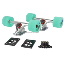 "7"" Longboard Skateboard Trucks COMBO Set with 70mm Wheels"