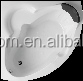Special New Acrylic Drop-in Corner Bathtub WD6243