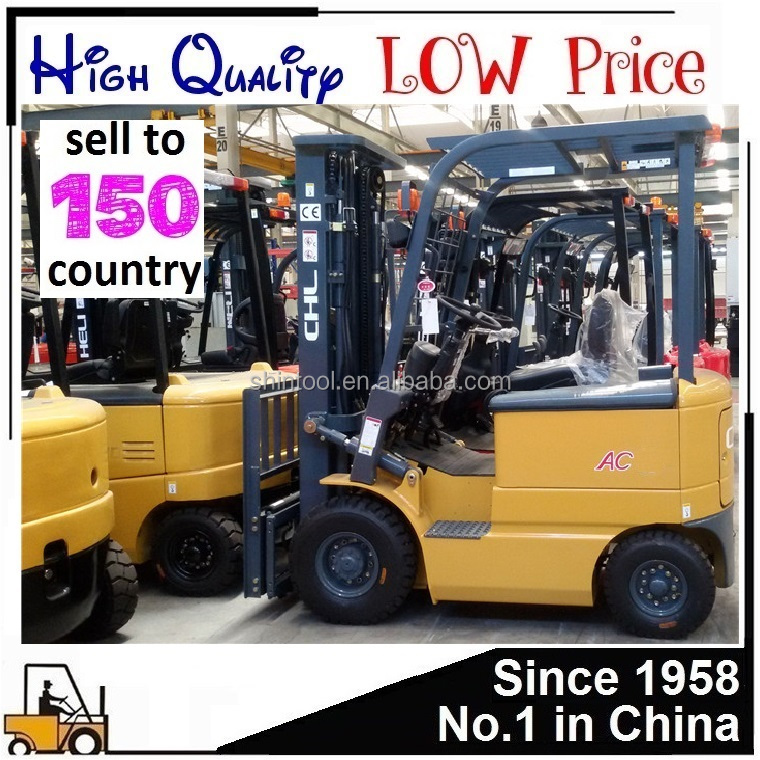 Electric Forklift Price Of Heli 1.5/2/2.5 Tons Made In China