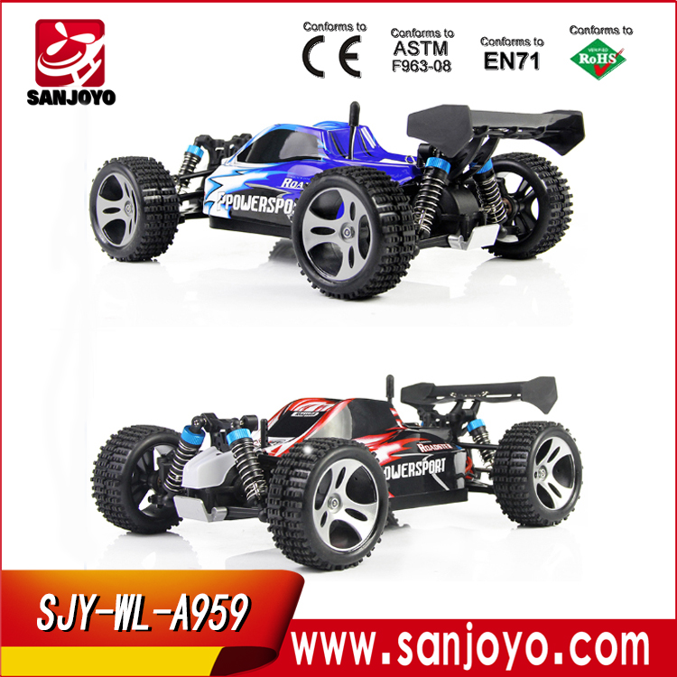 OFF-ROAD CAR !! WLtoys A959 1:18 2.4G 50KM/H SUV High Racing Car cross country rc trucks rc truggy sale SJY-WL-A959