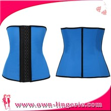 Hot SALE Adult Girls Rubber cheap Women's Latex Waist Training Corset Steel Boned Shapewear Girdle