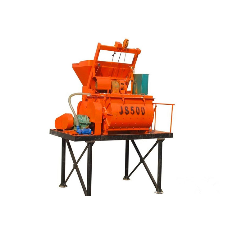 Hot Sell JS 500 small concrete mixer price