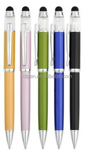 2015 promotion pen,black metal pen,gift stylus pen