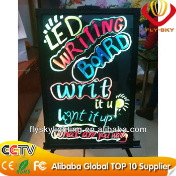 LED writing board with high quality and brightness ali express new invention 2014 best for advertising factory direct!