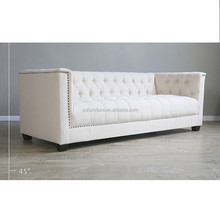 Modern modern home center sofa european standard single sofa size