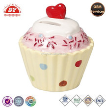 Toys and Games Kids Cup Cake Love Heart Money Box