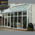 Slant roof durable modern glass house garden