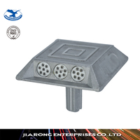 ISO 9001 Factory strong reflective effect aluminum road stud