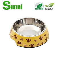 Colorful PET high quality popular cartoon automatic large dog feeder