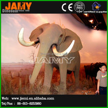 Outdoor park artificial cartoon characters elephant