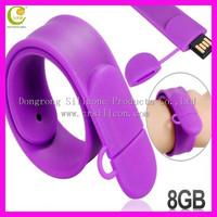 Silicon Wristband Slap Band Bracelet 4GB 8GB 16GB USB Flash Drive,usb hub