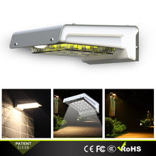 Wall Solar Light Lithium-ion Battery Rechargeable and Long Use Time Cheap Economic for Outdoor Lighting
