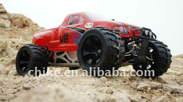 30.5cc 4WD Big Monster RC car with Hydraulic Disc Brake & 2.4G