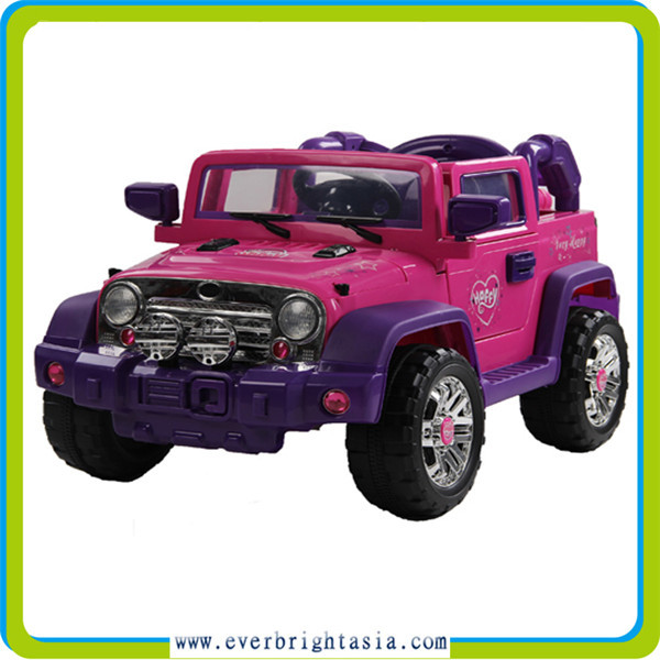 Jeep design electric toy car, big ride on car