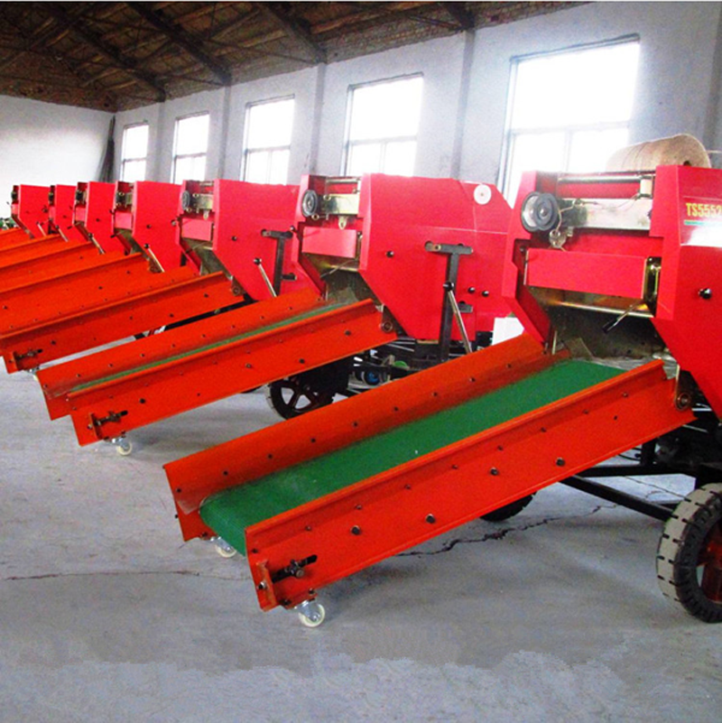 Myway farm machinery hydraulic round bale corn straw silage baler machine for sale