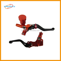 Dirt bike pit bike good performance universal CNC motorcycle clutch brake lever