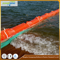 Rubber Oil Boom And Inflatable PVC