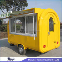 Shanghai Jiexian FR-280H Food transportation China made mini mobile food van design