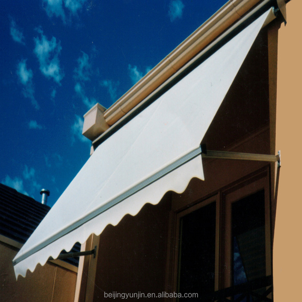 Make aluminum dutch acrylic window awnings