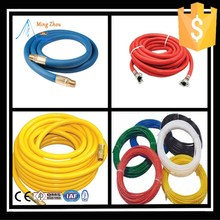 MZ flexible textile braided prices of hoses for water