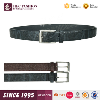 HEC Wholesale Products Pure Color Serpentine Style Novel Fashion Leather Belts Men