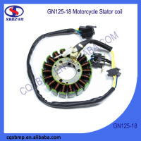 DC Power GN125 18 Poles Motorcycle Magneto Stator Coil For Suzuki