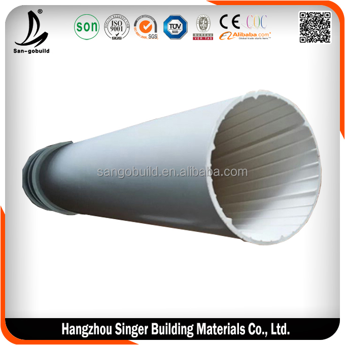 Low price 1 m diameter pipe factory, high quality wash basin drain pipe