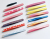 New Arrival Professional Painting Coating and Silk Screen eyebrow tweezer