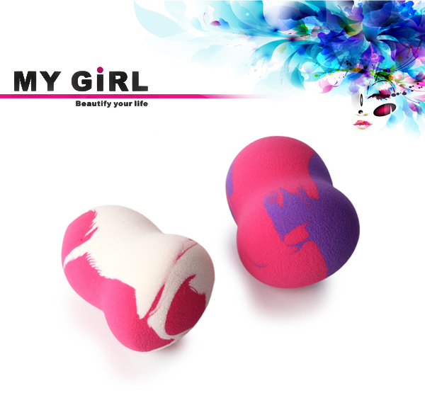 MY GIRL Best selling non Latex Makeup Sponge Hydrophilic puff japanese organic cotton