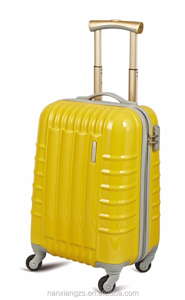 2015 hot sale polycarbonate PC travel trolley luggage bag