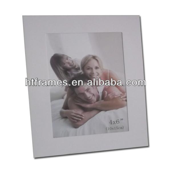 The cheapest white paper card photo frame 4x6 5x7 8x10