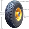Yinzhu manufacturer high quality 10 inch pu foam wheel