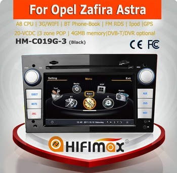 Hifimax car multimedia player for Opel CORSA(2006-2010) car radio player with DVD GPS Bluetooth USB MP3 MP4 3G WIFI POP 20 V-CDC
