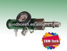 Click-style Pin Index Oxygen Regulator Aluminum Pin Index O2 Regulator